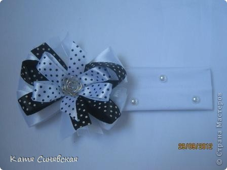 Мои новые повязочки,сделаны на заказ для маленькой девочки. фото 3
