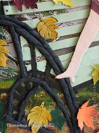 Здравствуйте, дорогие жители СМ!!!  Люблю я осень за тихую печаль, за серебряные нити бабьего лета, за разноцветные листья, шуршащие  под ногами......... фото 7