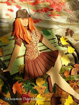 Здравствуйте, дорогие жители СМ!!!  Люблю я осень за тихую печаль, за серебряные нити бабьего лета, за разноцветные листья, шуршащие  под ногами......... фото 8