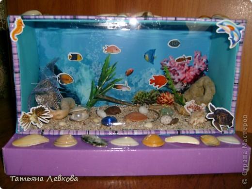 Поделка аквариум своими руками
