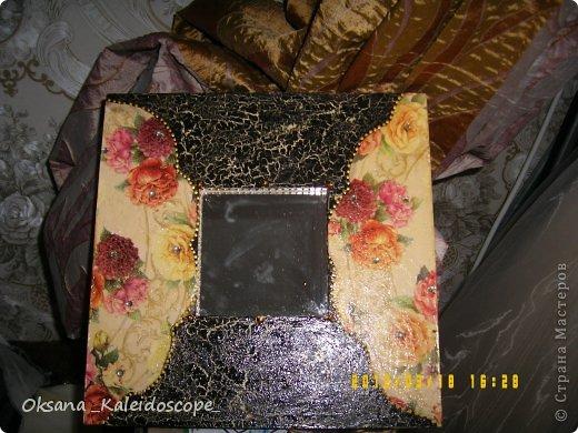 Зеркало в рамке из ИКЕА фото 1