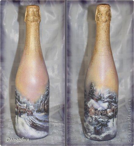 Подарок подруге на День рождения. Бутылка в чулке и шкатулка с её портретом. фото 4