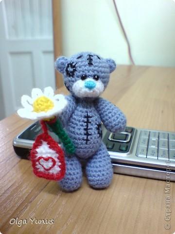Моя последняя работа мишка Бусинка. Милая очаровашка с любимым воздушным шариком))) фото 13