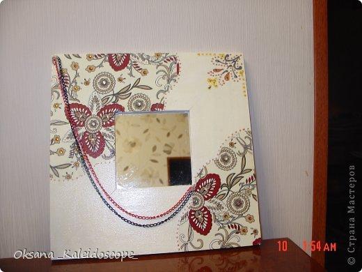 Зеркало в рамке из ИКЕА фото 4