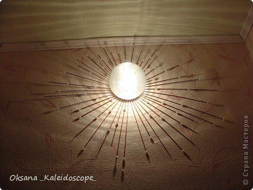 Из простого светильника в авторский фото 1