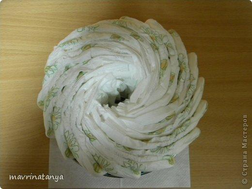 Предлагаю Вашему вниманию мастер-класс по изготовлению оригинального подарка из памперсов для мальчика. фото 4