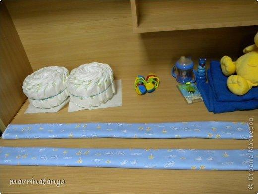 Предлагаю Вашему вниманию мастер-класс по изготовлению оригинального подарка из памперсов для мальчика. фото 9