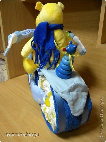 Предлагаю Вашему вниманию мастер-класс по изготовлению оригинального подарка из памперсов для мальчика. фото 31