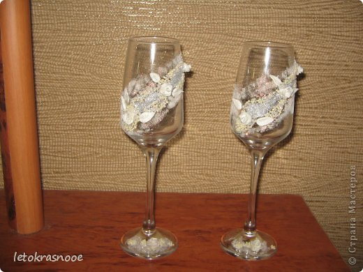 Свадебные бокалы) фото 2