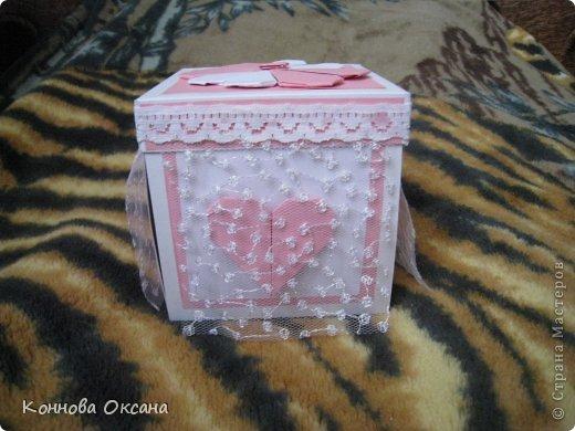 Коробочка свадебная для денежного подарка фото 10