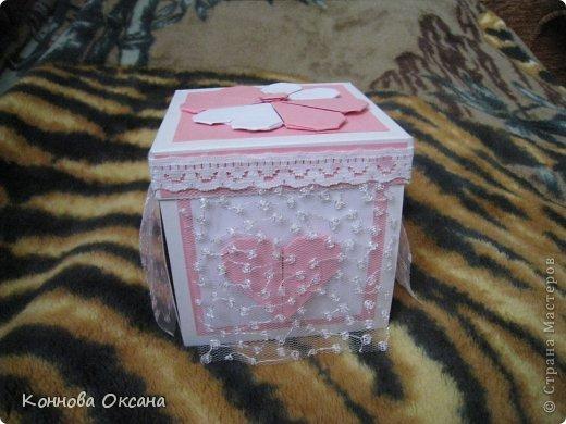 Коробочка свадебная для денежного подарка фото 8