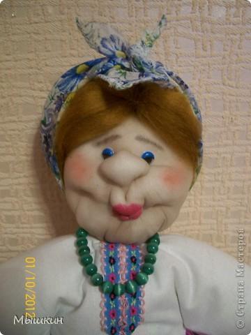"""Очередная """"Бабка на чайник"""". Делалась за 2 вечера, срочно, в подарок семейной паре. фото 4"""