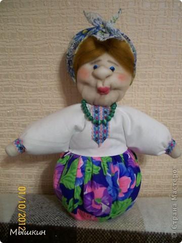 """Очередная """"Бабка на чайник"""". Делалась за 2 вечера, срочно, в подарок семейной паре. фото 5"""
