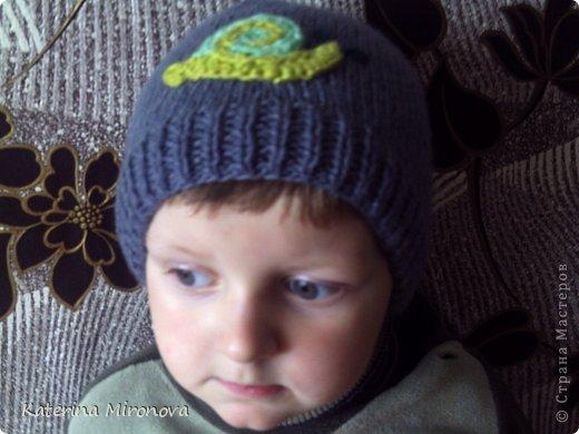 Вот такая получилась у меня шапочка. фото 2