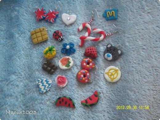 Вот они,все мои любимые работы из полимерной глины(пластики)!!! А теперь о каждой подробнее) фото 1