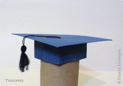 """Модель называется """"Шапочка бакалавра"""". автор Гай Мерилл Гросс (США) Нашла её в одном из сборников Афонькиных. фото 1"""