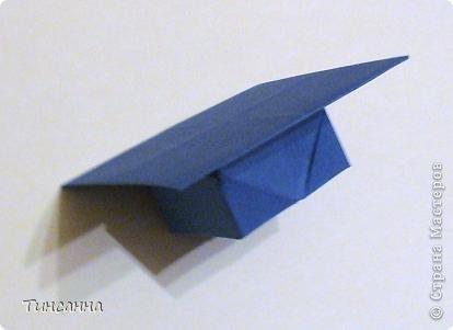 """Модель называется """"Шапочка бакалавра"""". автор Гай Мерилл Гросс (США)  Нашла её в одном из сборников Афонькиных.   фото 14"""