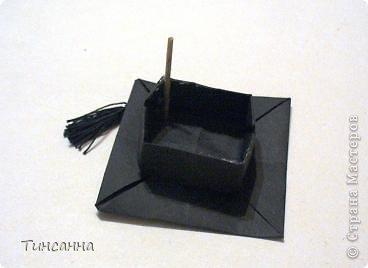 """Модель называется """"Шапочка бакалавра"""". автор Гай Мерилл Гросс (США)  Нашла её в одном из сборников Афонькиных.   фото 17"""