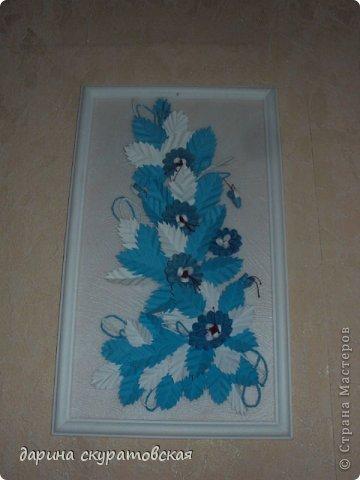 Квиллинговые цветы фото 1