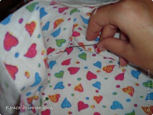 Здравствуйте! хочу рассказать вам как я делала люльку для куклы своей дочке  фото 14