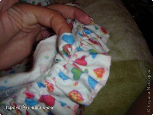 Здравствуйте! хочу рассказать вам как я делала люльку для куклы своей дочке  фото 15