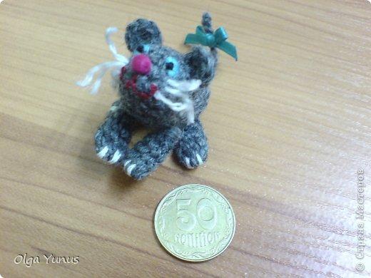 Моя последняя работа мишка Бусинка. Милая очаровашка с любимым воздушным шариком))) фото 14