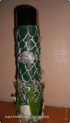Идея бутылки не моя, а увиденная в Мк у sovsem_neangel ,спасибо большое за то, что поделились идеей! фото 2