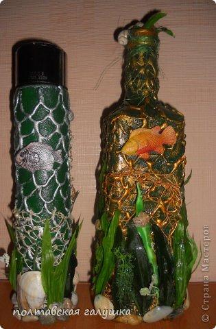 Идея бутылки не моя, а увиденная в Мк у sovsem_neangel ,спасибо большое за то, что поделились идеей! фото 4