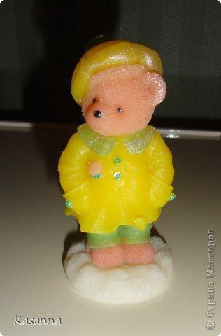 """Мишка в коляске. Из мыльной основы, с миндальным маслом, америк. отдушка """"Обезьянья радость""""))  фото 33"""