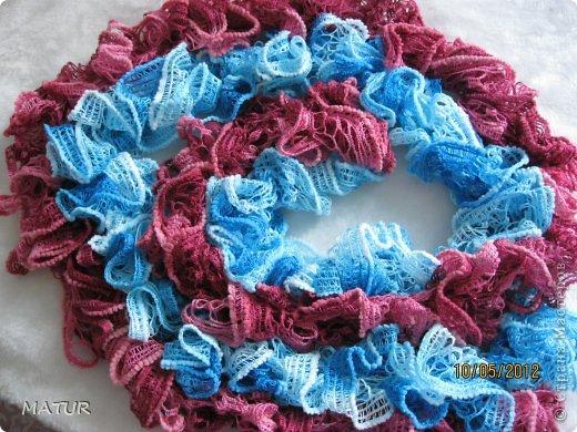 Модные шарфики фото 7