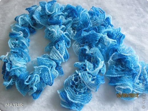 Модные шарфики фото 9
