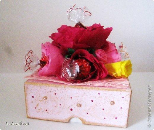 Коробочка с конфетами фото 1