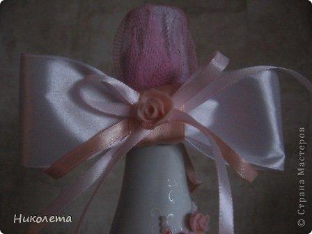 Здравствуйте , дорогие девчонки!!!!!! Это мой первенец, спасибо всем мастерам, которые занимаются свадебным декором, училась у всех понемногу, до идеала далеко, буду учиться дальше.  фото 10