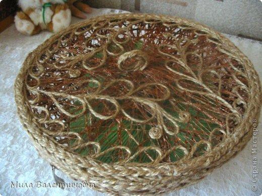 Сувениры из джутовых ниток. фото 3