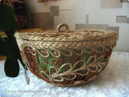 Сувениры из джутовых ниток. фото 1