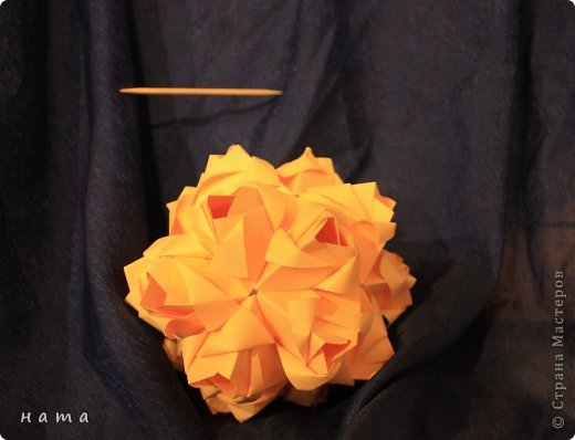 Благодаря Оле https://stranamasterov.ru/node/421934 я открыла для себя мир кусудам Марии Синайской  Little Roses Kusudama (squares) - 30 модулей. Наинежнейшее создание, Чайная роза... МК: http://goorigami.com/diagrams/little-roses-kusudama  Видео МК: http://www.youtube.com/watch?v=d9r2Llb8f8w  фото 3