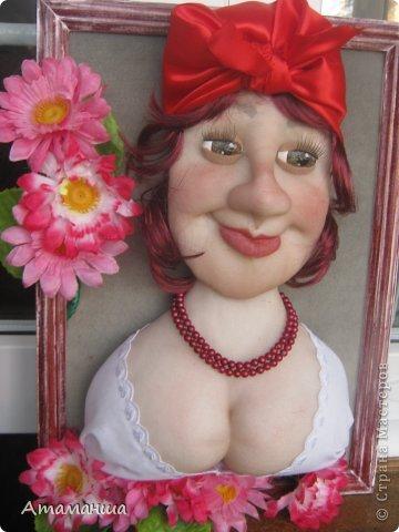 У Ирочки Пырьевой скоро День Рождения, сшила ей в подарок почти её портрет. Такая же она красивая, умная, жизнерадостная, как эта всем известная героиня Гоголя!!!! фото 1