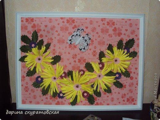 Квиллинговые цветы фото 2
