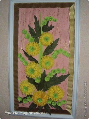 Квиллинговые цветы фото 4