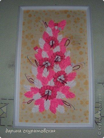 Квиллинговые цветы фото 3