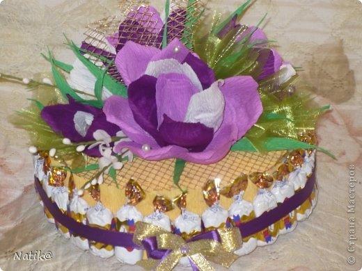 02.10 было День Рождение моей подруги Ксюши, ksene4ka76 https://stranamasterov.ru/user/174404, я ей сделала вот такой тортик. фото 10
