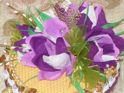02.10 было День Рождение моей подруги Ксюши, ksene4ka76 https://stranamasterov.ru/user/174404, я ей сделала вот такой тортик. фото 11