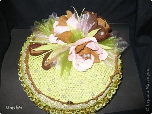 02.10 было День Рождение моей подруги Ксюши, ksene4ka76 https://stranamasterov.ru/user/174404, я ей сделала вот такой тортик. фото 2