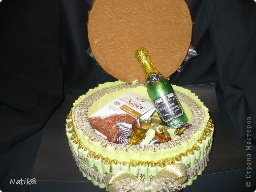 02.10 было День Рождение моей подруги Ксюши, ksene4ka76 https://stranamasterov.ru/user/174404, я ей сделала вот такой тортик. фото 3