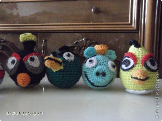 Связала внуку птичек Angry Birds  фото 3