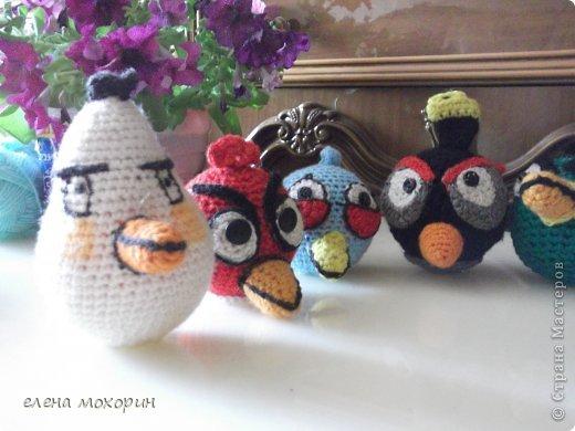 Связала внуку птичек Angry Birds  фото 4
