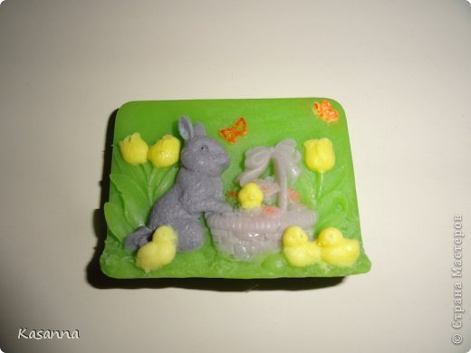 """Мишка в коляске. Из мыльной основы, с миндальным маслом, америк. отдушка """"Обезьянья радость""""))  фото 23"""
