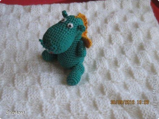 Одеяльце связала для племянницы Алисы, которой всего месяц. Вязала из пряжи BABY VITA, ушло 2 мотка. фото 5
