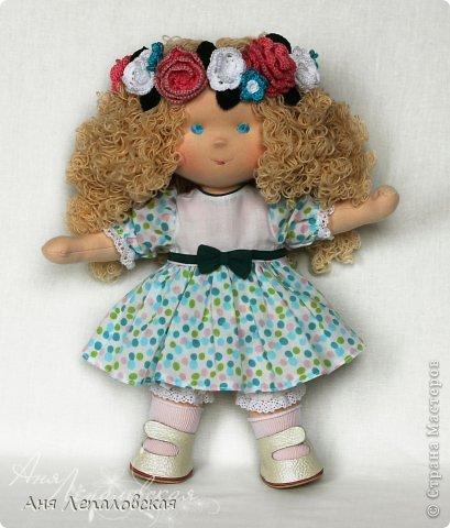 Каролина - принцесса полей :) В венке из цветочков! фото 3