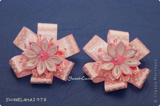 Комплект для маленькой модницы: ободок+браслетик. фото 11